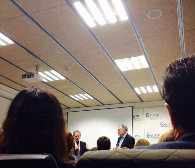 Conferencia de Coaching y Liderazgo en la Deusto Business School